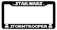 Star Wars Storm Trooper License Plate Frame