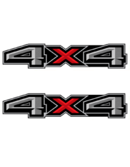 Ford 4X4 Decals Sticker