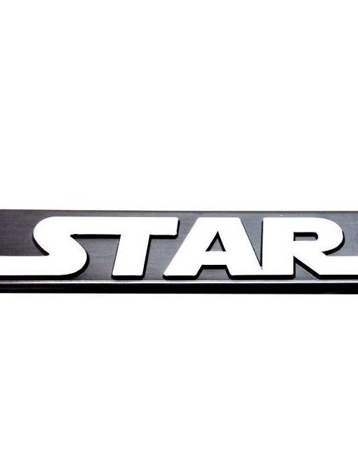 Star Wars Strormtrooper license Plate Frames