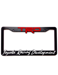 TRD License Plate Frame