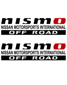 NISMO OFF ROAD Decals Stickers