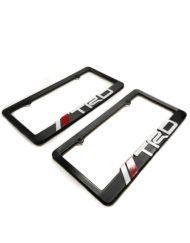 TRD Racing Development License Plate Frames