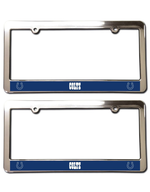 Indianapolis Colts License Plate Frames