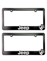 Jeep Wave License Plate Frames