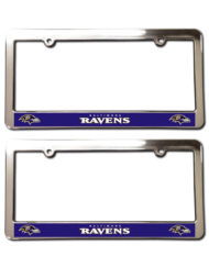Baltimore Ravens License Plate Frames