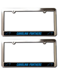 Carolina Panthers License Plate Frames