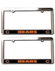 Chicago Bears License Plate Frames