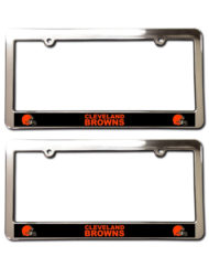 Cleveland Browns License Plate Frames