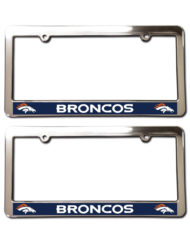 Denver Broncos License Plate Frames