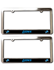 Detroit Lions License Plate Frames