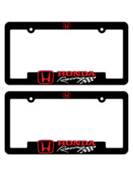 Honda Racing License Plate Frames