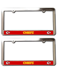 Kansas City Chiefs License Plate Frames