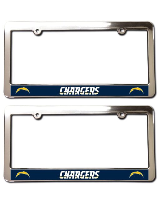 Los Angeles Chargers License Plate Frames