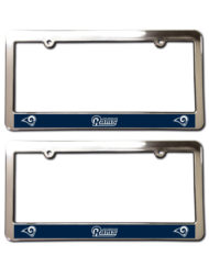 Los Angeles Rams License Plate Frames