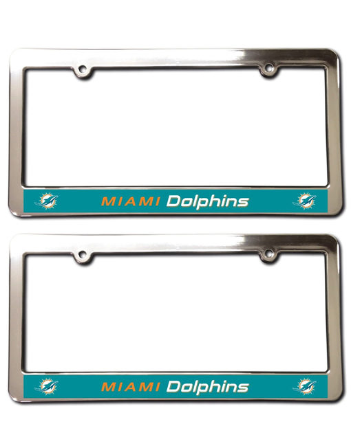 Miami Dolphins License Plate Frames