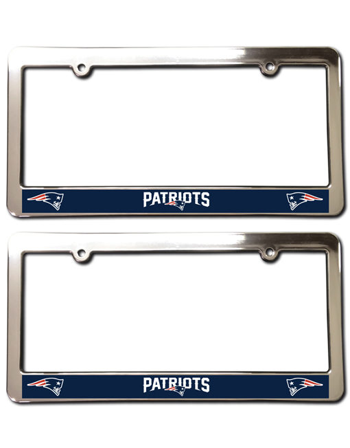 New England Patriots License Plate Frames