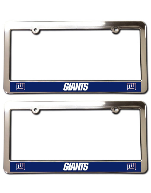 New York Giants License Plate Frames
