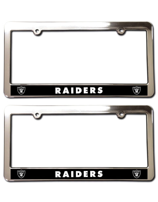 Oakland Raiders License Plate Frames