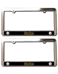 Pittsburgh Steelers License Plate Frames
