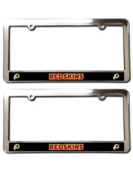 Washington Redskins License Plate Frames