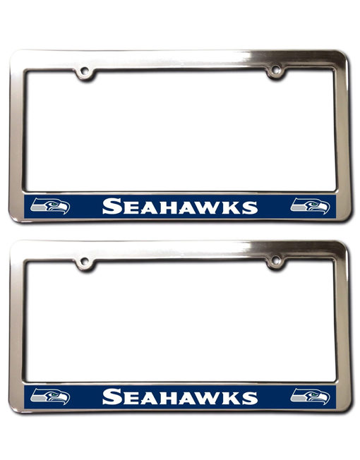 Seattle Seahawks License Plate Frames