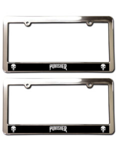 The punisher license plate frames