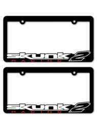 Skunk2 Racing License Plate Frames