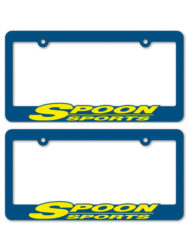 Spoon Sports Racing License Plate Frames