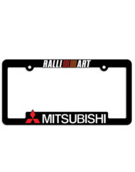 Mitsubishi Ralliart License Plate Frames