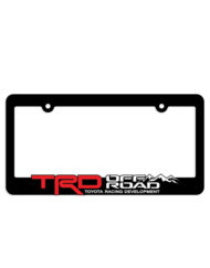 TRD Toyota Racing Development License Plate Frame