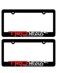 TRD OFF ROAD Toyota Racing Development License Plate Frames