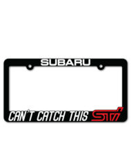Subaru STI License Plate Frame