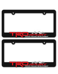 TRD Sport License Plate Frames