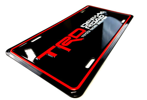 TRD OFF ROAD License Plate
