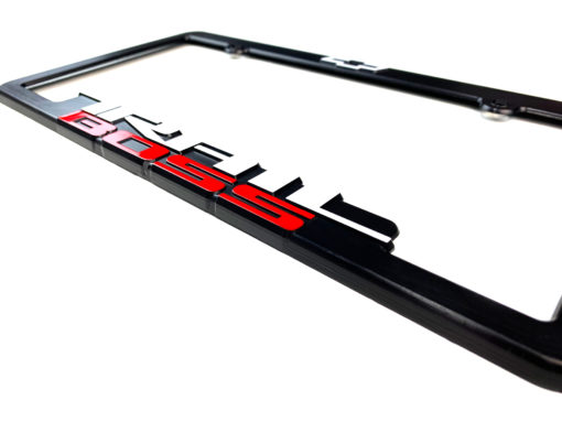 Trail Boss License Plate Frames